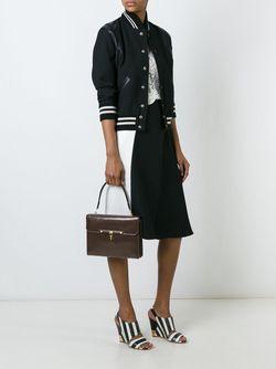Сумка С Откидным Клапаном Hermès Vintage                                                                                                              коричневый цвет