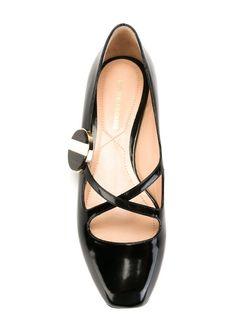 Балетки Liz Carnaby Nicholas Kirkwood                                                                                                              чёрный цвет