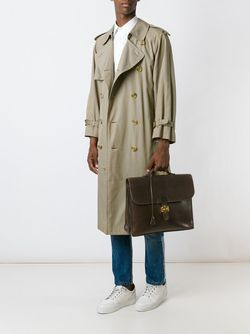 Портфель Sac À Dépèches Hermès Vintage                                                                                                              коричневый цвет