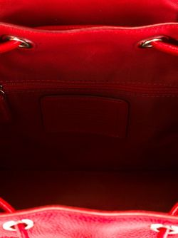 Маленький Рюкзак С Откидным Клапаном COACH                                                                                                              красный цвет