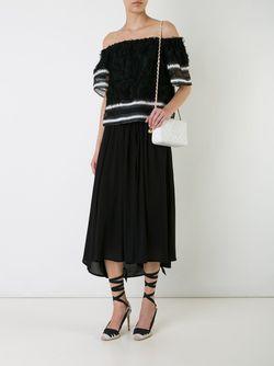 Сумка На Плечо С Логотипом Chanel Vintage                                                                                                              белый цвет