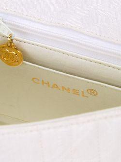 Сумка На Плечо Мини Chanel Vintage                                                                                                              белый цвет