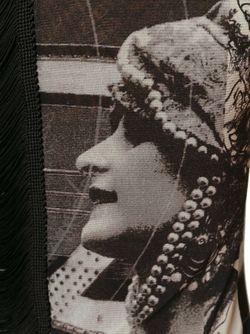 Платье С Принтом JEAN PAUL GAULTIER VINTAGE                                                                                                              черный цвет