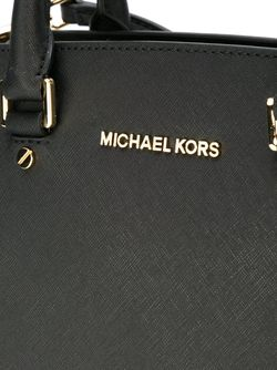 Сумка-Тоут Selma Michael Michael Kors                                                                                                              черный цвет