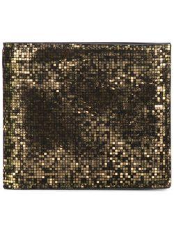 Классический Бумажник Maison Margiela                                                                                                              серебристый цвет