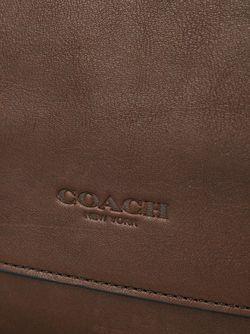 Классическая Сумка-Почтальонка COACH                                                                                                              коричневый цвет