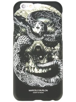 Чехол Для Iphone 6/6s Bayo MARCELO BURLON COUNTY OF MILAN                                                                                                              чёрный цвет