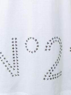 Футболка С Логотипом No21                                                                                                              белый цвет