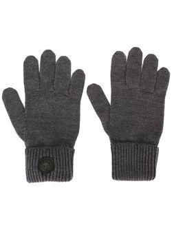 Классические Перчатки В Рубчик Dsquared2                                                                                                              серый цвет