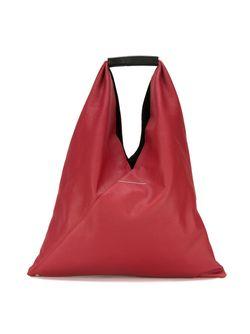 Большая Смука-Тоут Треугольной Формы MM6 by Maison Margiela                                                                                                              красный цвет