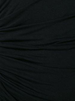 Платье С Присборенной Отделкой A.L.C.                                                                                                              черный цвет