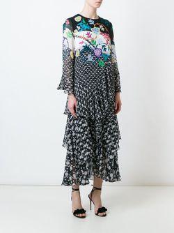 Платье С Принтом Peter Pilotto                                                                                                              чёрный цвет