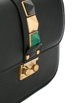 Сумка На Плечо Glam Lock Valentino                                                                                                              чёрный цвет