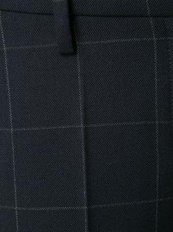 Укороченные Брюки В Клетку Brunello Cucinelli                                                                                                              синий цвет