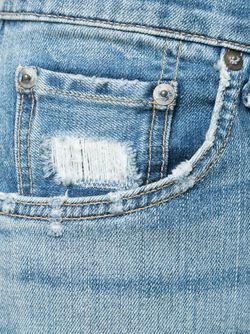 Джинсы Кроя Слим Rag & Bone                                                                                                              синий цвет