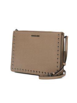 Клатч Ava Michael Michael Kors                                                                                                              коричневый цвет