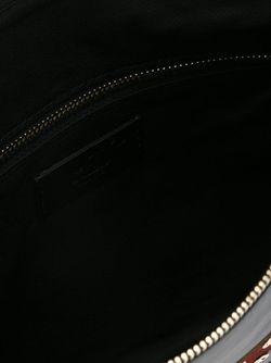 Клатч С Нашивками Птиц Red Valentino                                                                                                              черный цвет