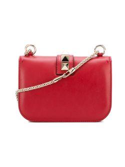 Сумка На Плечо Glam Lock Valentino                                                                                                              красный цвет