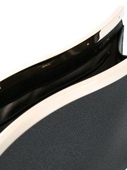 Клатч С Волнистой Деталью Valextra                                                                                                              чёрный цвет