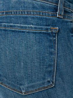 Выбеленные Джинсы J Brand                                                                                                              синий цвет