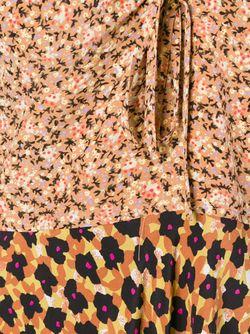 Платье С Комбинированным Принтом Etro                                                                                                              многоцветный цвет