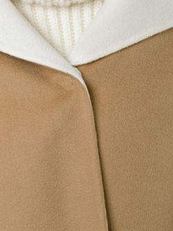 Накидка С Капюшоном Agnona                                                                                                              коричневый цвет
