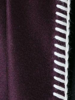 Пончо С Контрастной Окантовкой Agnona                                                                                                              розовый цвет