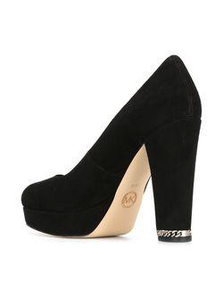 Chunky Heel Pumps Michael Michael Kors                                                                                                              чёрный цвет