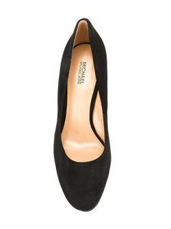 Chunky Heel Pumps Michael Michael Kors                                                                                                              черный цвет