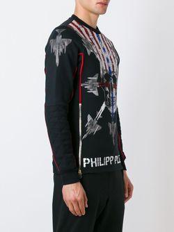 Толстовка Eagle Pride Philipp Plein                                                                                                              чёрный цвет