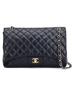 Сумка На Плечо Maxi Flap Chanel Vintage                                                                                                              черный цвет