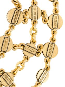 Ожерелье С Элементами Монет MOSCHINO VINTAGE                                                                                                              серебристый цвет