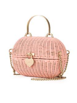 Сумка-Корзинка Через Плечо Chanel Vintage                                                                                                              розовый цвет