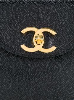 Сумка Через Плечо Chanel Vintage                                                                                                              черный цвет
