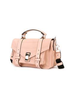 Мини Сумка-Сэтчел Ps1 Proenza Schouler                                                                                                              розовый цвет