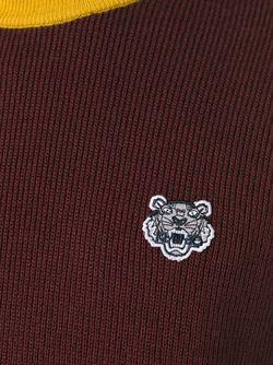 Свитер Mini Tiger Kenzo                                                                                                              красный цвет