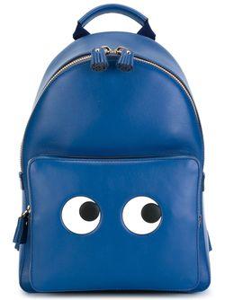 Рюкзак Eyes Anya Hindmarch                                                                                                              синий цвет