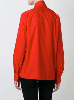 Рубашка С Бантом Love Moschino                                                                                                              красный цвет