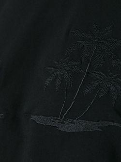Футболка С Вышивкой Alexander Wang                                                                                                              чёрный цвет