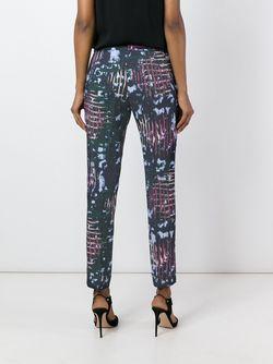 Abstract Print Trousers Versace                                                                                                              синий цвет