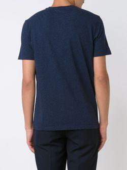 Футболка С Принтом Ротвейлера Givenchy                                                                                                              синий цвет
