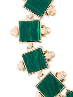 Колье Lava Eshvi                                                                                                              зелёный цвет