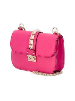 Сумка На Плечо Glam Lock Valentino                                                                                                              розовый цвет