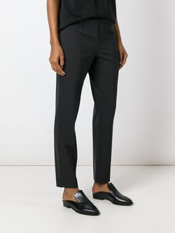 Cropped Trousers Brunello Cucinelli                                                                                                              серый цвет