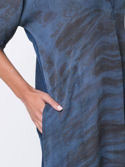 Платье Свободного Кроя Raquel Allegra                                                                                                              синий цвет