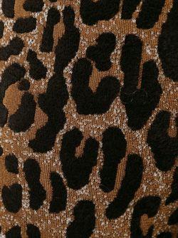 Жаккардовые Брюки С Леопардовым Принтом Stella Mccartney                                                                                                              черный цвет