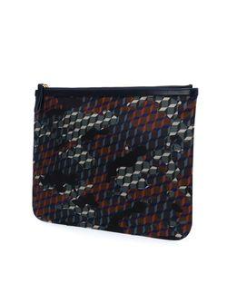 Камуфляжный Клатч Pierre Hardy                                                                                                              чёрный цвет