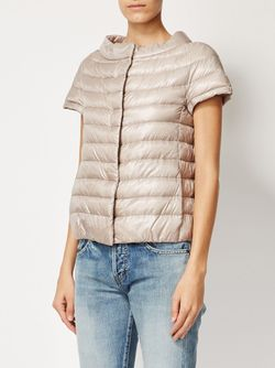 Short Sleeve Padded Jacket Herno                                                                                                              Nude & Neutrals цвет