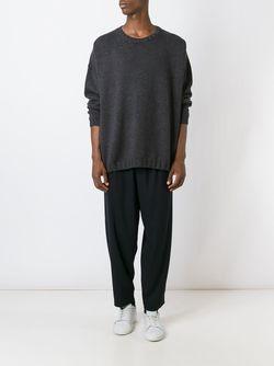 Удлиненный Пуловер SOCIETE ANONYME                                                                                                              серый цвет