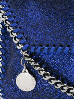 Сумка Через Плечо Falabella Shaggy Deer Stella Mccartney                                                                                                              синий цвет